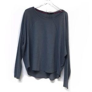 Prana Blue Long Sleeve Top #833